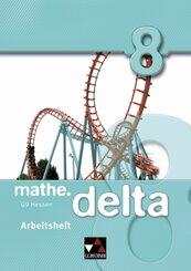 mathe.delta, Ausgabe Hessen (G9): 8. Schuljahr, Arbeitsheft