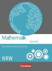 Mathematik - Fachhochschulreife - Technik - Nordrhein-Westfalen 2014