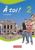 À toi! - Vier- und fünfbändige Ausgabe: Lerntagebuch; Bd.2