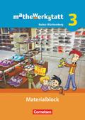 mathewerkstatt - Mittlerer Schulabschluss Baden-Württemberg: Materialblock; Bd.3