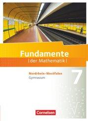 Fundamente der Mathematik, Gymnasium Nordrhein-Westfalen: 7. Schuljahr, Schülerbuch
