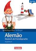 lex:tra Sprachkurs Plus Anfänger Alemão, Deutsch als Fremdsprache, Lehrbuch in Deutsch, Begleitbuch in Portugiesisch, 2