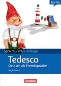 lex:tra Sprachkurs Plus Anfänger Tedesco, Deutsch als Fremdsprache, Lehrbuch in Deutsch, Begleitbuch in Italienisch, 2 A