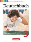 Deutschbuch, Gymnasium Baden-Württemberg, Neubearbeitung: 7. Schuljahr, Schülerbuch; Bd.3
