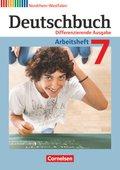 Deutschbuch, Differenzierende Ausgabe Nordrhein-Westfalen: 7. Schuljahr, Arbeitsheft