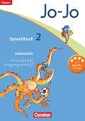 Jo-Jo Sprachbuch, Grundschule Bayern 2014: 2. Jahrgangsstufe, Arbeitsheft Vereinfachte Ausgangsschrift