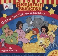 Benjamin Blümchen, Gute-Nacht-Geschichten - Die Pyjama-Party, 1 Audio-CD