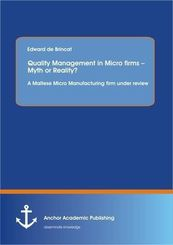 Quality Management in Micro firms - Myth or Reality?