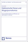 Elektronische Presse und Bürgerjournalismus