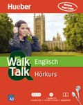 Walk & Talk Englisch Hörkurs, 4 Audio-CDs + MP3-CD + Begleitheft