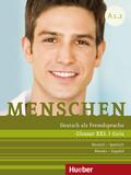 Menschen - Deutsch als Fremdsprache: Glossar XXL Deutsch-Spanisch, Guía Alemán-Español; .A1/2