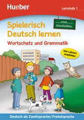 Spielerisch Deutsch lernen: Neue Geschichten, Wortschatz und Grammatik, Lernstufe 1
