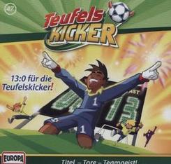 Die Teufelskicker - 13:0 für die Teufelskicker!, 1 Audio-CD