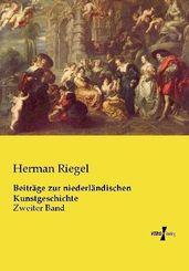 Beiträge zur niederländischen Kunstgeschichte