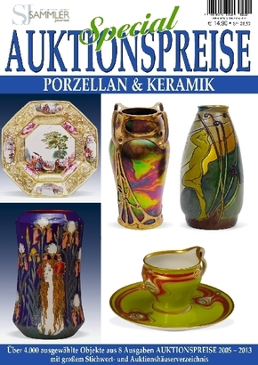 Auktionspreise Special Porzellan & Keramik
