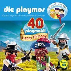 Die Playmos - Auf der Jagd nach dem goldenen Schlüssel, 1 Audio-CD