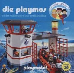 Die Playmos - Mit der Küstenwache auf Verbrecherjagd, 1 Audio-CD