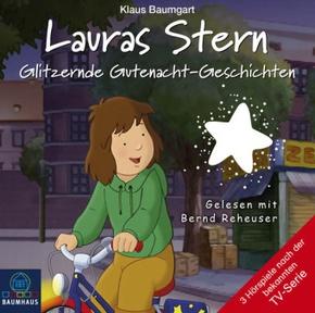 Lauras Stern - Glitzernde Gutenacht-Geschichten, 1 Audio-CD