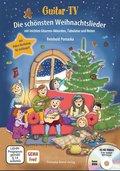 Guitar-TV: Die schönsten Weihnachtslieder, m. DVD