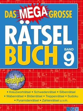 Das megagroße Rätselbuch - Bd.9