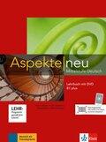 Aspekte neu - Mittelstufe Deutsch: Lehrbuch B1 plus, m. DVD-ROM