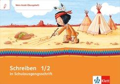 Mein Indianerheft: Mein Anoki-Übungsheft - Schreiben in Schulausgangsschrift