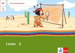 Mein Indianerheft: Lesen Klasse 3