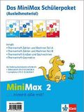MiniMax: 2. Schuljahr, Das Minimax Schülerpaket (Ausleihmaterial), 4 Hefte