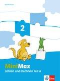 MiniMax: 2. Schuljahr, Themenheft Zahlen und Rechnen, Ausleihmaterial, 2 Hefte
