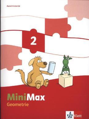 MiniMax: 2. Schuljahr, Themenheft Geometrie, Ausleihmaterial