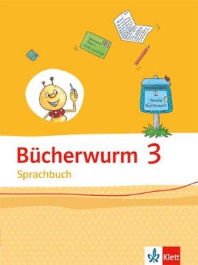 Bücherwurm Sprachbuch, Ausgabe Sachsen: 3. Schuljahr, Schülerbuch