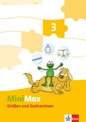 MiniMax: 3. Schuljahr, Themenheft Größen und Sachrechnen, Verbrauchsmaterial