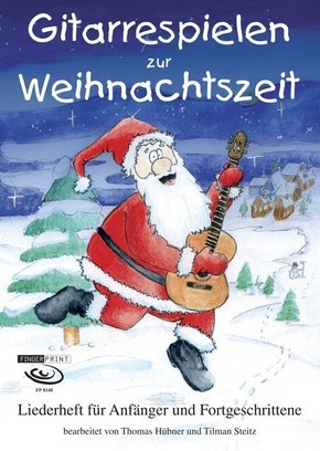 Gitarrespielen zur Weihnachtszeit