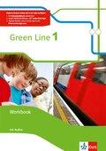 Green Line, Bundesausgabe ab 2014: 5. Klasse, Workbook m. 2 Audio-CDs; 1