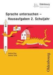 Sprache untersuchen - Hausaufgaben 2. Schuljahr