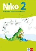 Niko, Ausgabe ab 2014: 2. Schuljahr, Arbeitsheft Fördern und Inklusion