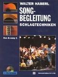Schlagtechniken - Songbegleitung, für Gitarre mit 2 Audio-CDs - Vol.1