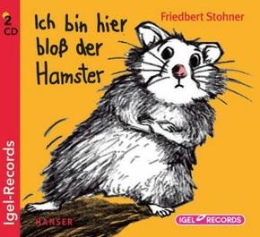 Ich bin hier bloß der Hamster, 2 Audio-CDs
