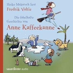 Die fabelhafte Geschichte von Anne Kaffeekanne, 2 Audio-CDs