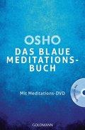 Das blaue Meditationsbuch, m. Meditations-DVD