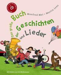 Das große Buch der Geschichten und Lieder, m. Audio-CD