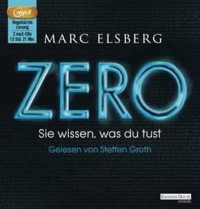 ZERO - Sie wissen, was du tust, 2 MP3-CDs