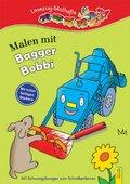 Malen mit Bagger Bobbi