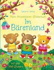 Mein Anziehbären-Stickerbuch - Im Bärenland