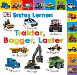 Traktor, Bagger, Laster