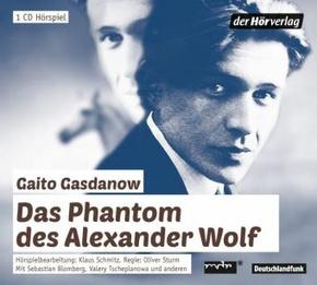 Das Phantom des Alexander Wolf, 1 Audio-CD