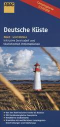 ADAC Karte Deutsche Küste, Nord- und Ostsee, Campingkarte