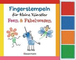 Fingerstempeln für kleine Künstler - Feen und Fabelwesen