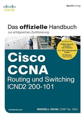 Cisco CCNA Routing und Switching ICND2 200-101, m. CD-ROM
