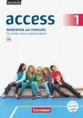 English G Access - Allgemeine Ausgabe: 5. Schuljahr, Workbook mit Vorkurs; Bd.1